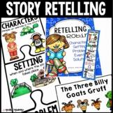 Retelling Stories Activities/Rubric/RTI Interventions