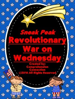 Revolutionary War Sneak Peak Freebie