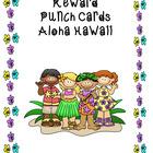 Reward Punch Cards Aloha Hawaii