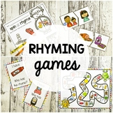 6 Rhyming Games