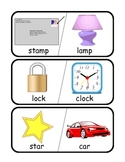 Rhyming Words Matching Game - Literacy Center
