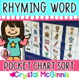 Rhyming Words! Rhyming Picture Cards Literacy Center Activ