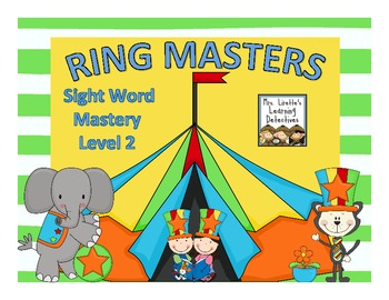 Ring Masters Sight Word Mastery: Level 2