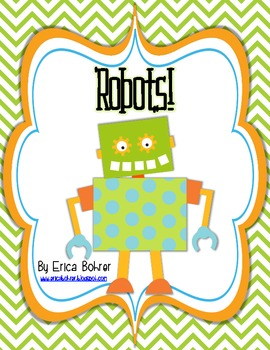 Robot Themed Literacy Activities!