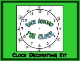 Rock Around the Clock: Clock Decorating Kit