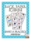 Rock, Paper, Scissors: CVC Short A Words