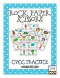 Rock, Paper, Scissors: CVCC Words {Final Blends}