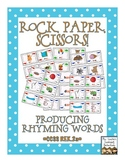 Rock, Paper, Scissors: Producing Rhyming Words