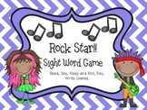 Rock Star!  A Sight Word Game