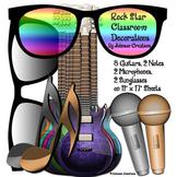 Rock Star Classroom Decorations Kit