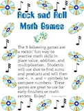 Rock and Roll Math Games