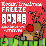 Christmas Freeze Dance {Brain Break/Movement Exploration}