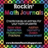 Rockin' Math Journals
