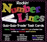Number Lines - Fractions & Decimals