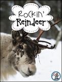 Rockin' Reindeer {Nonfiction, Literacy Centers, Word Work,