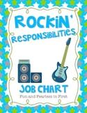 Rockin' Responsibilities Job Chart