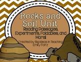 Rocks Minerals Soil Unit Passages Experiments Foldables...