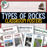 Rocks - Types of Rocks Posters