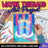 Roll-A-Masterpiece: Wayne Thiebaud Art History Game - Oil