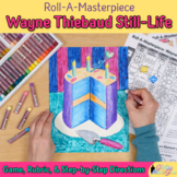 Roll-A-Masterpiece: Wayne Thiebaud Art History Game - Oil