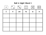 Roll A Sight Word Packet (First Grade)