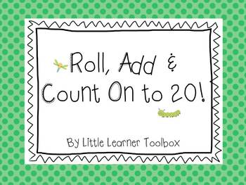 Roll, Add and Count on to 20! (Bug Theme)