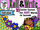 Roll & Read (Editable) Games