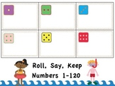 Roll Say Keep Beach Numbers