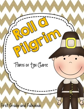 Roll a Pilgrim-First Grade and Fabulous