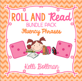 Roll and Read Fluency Phrases Bundle Pack {Long Vowels, Sh
