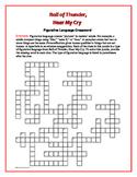 Roll of Thunder, Hear My Cry: Figurative Language Crossword--Fun!