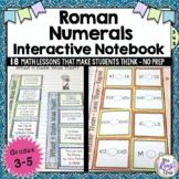 Roman Numerals Interactive Notebook