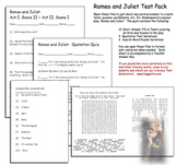 Romeo and Juliet Test Pack  Drama Play