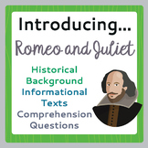 Romeo and Juliet Introduction, Historical Context, Informa