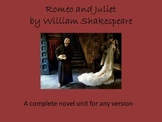 Romeo and Juliet Teaching and Study Guide for any Version