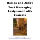 Text Messaging with Romeo and Juliet- a Fun Lesson