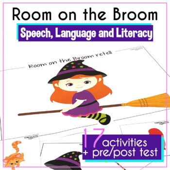 #OctSLPMustHave Room on the Broom: A Speech Language Book