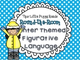 Round-the-Room Winter Themed Figurative Language