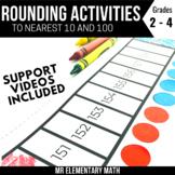 Rounding Math Activities Bundle