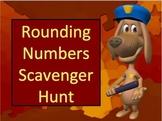 Rounding Numbers Scavenger Hunt Activity
