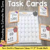 Rounding to Estimate Sums Task Cards with Common Core