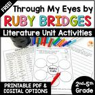 FREE Ruby Bridges Character Traits Activity