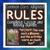 Rules by Cynthia Lord Literature Guide Common Core Aligned