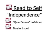Rules for reading to yourself