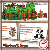 Rules of Syllabication *Forest Friends Edition*