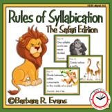 Rules of Syllabication (The Safari Edition)