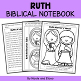 Ruth Bible Unit (text, memory verse & activities)