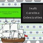 SC Colonization Unit: PowerPoint, lesson plans, graphic or