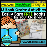 SCHOLASTIC BOOK ORDER SALES BOOSTING ACTIVITIES