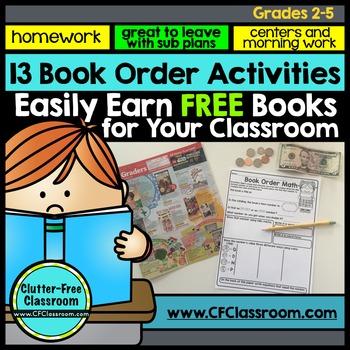 SCHOLASTIC BOOK ORDER SALES BOOSTING ACTIVITIES